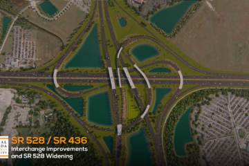 Conceptual view of completed SR 528/SR436 interchange